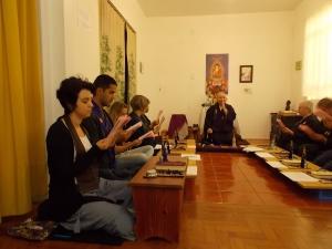 Oficina de Baika com Professora-Mestra de Baika, Suzuki Shihan em 2012.