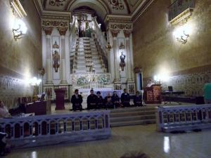 Grupo de Baika Jisui Zendô no Concerto Inter-religioso na Igreja Nossa Senhora das Dores